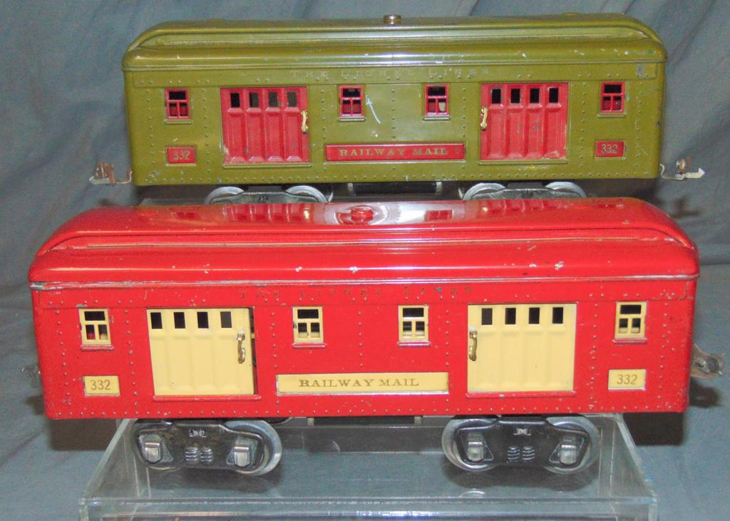 2 Separate Sale Lionel Baggage Cars