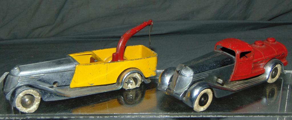 2 Scarce Early Solido Commercial Vehicles