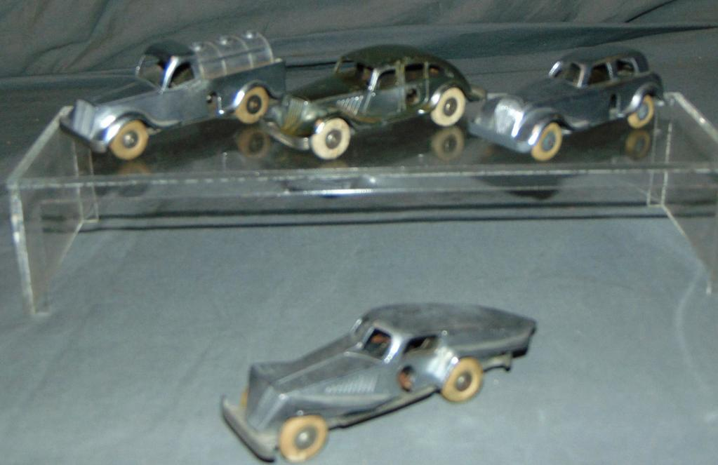 4 Early Solido Baby Vehicle Wind-Ups