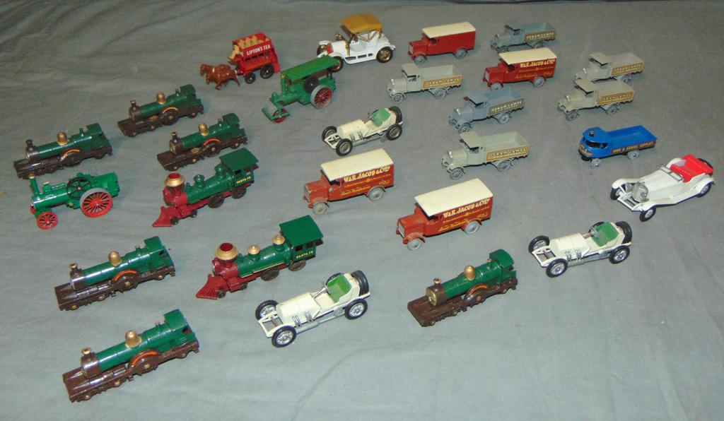 Large Lot Matchbox Models Of Yesteryear