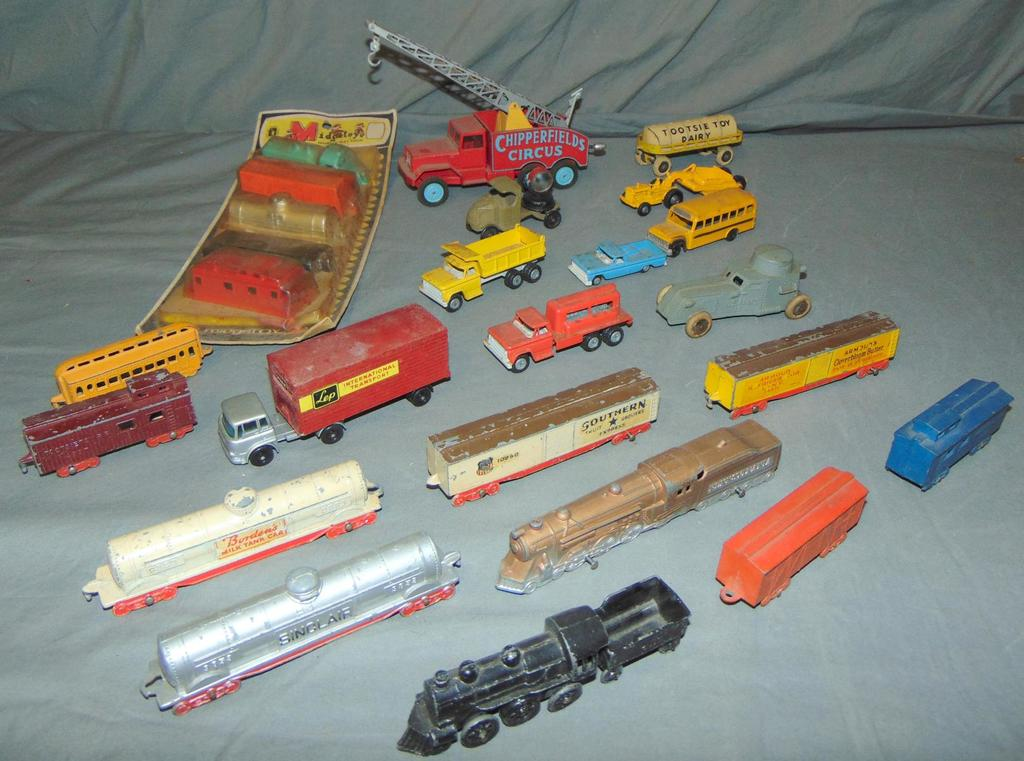 Assorted Toy Vehicle Lot