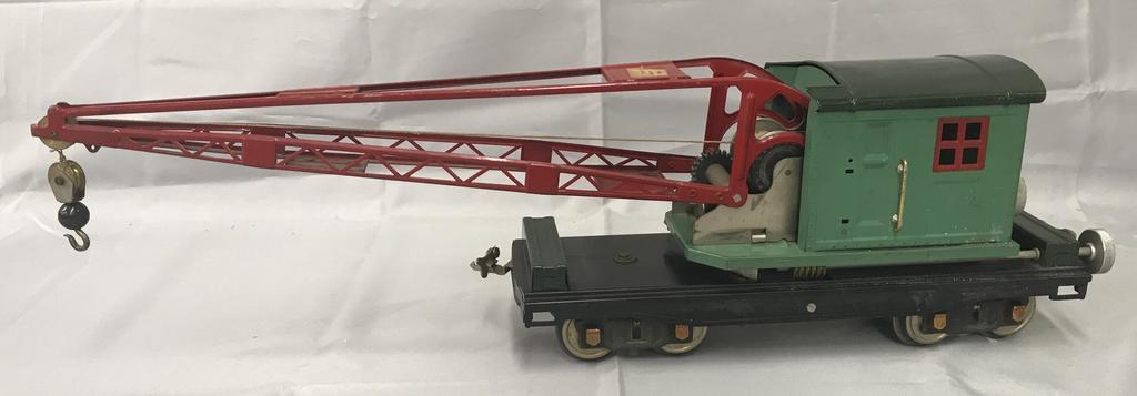Clean Lionel 219 Crane