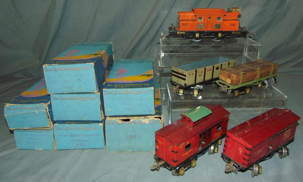 Super Boxed Ives Freight Set