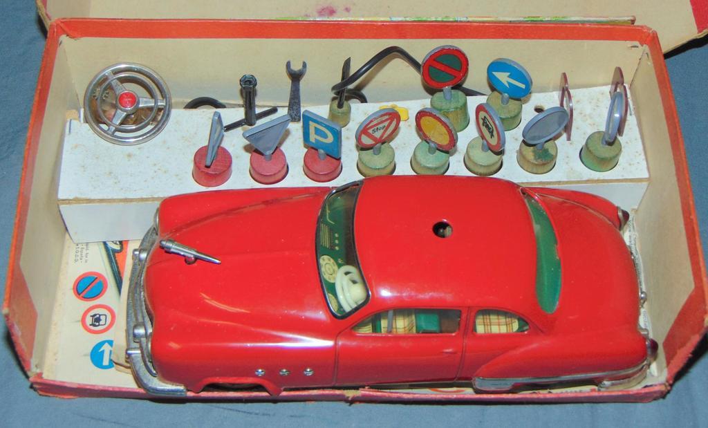 Boxed Schuco 5311 Elektro Genico