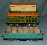 3 Lionel ST GA 500 Series Freight Cars