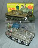 Lot of 2 Battery Operated Tank Toys
