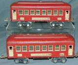2 Scarce Lionel 610 Macy Special Pullmans