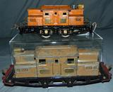 Late Ives 3254 & 3255R Electric Locomotives