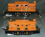 Restored Ives 3254R & 3255R Electric Locomotives