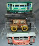 3 Tin Trolleys
