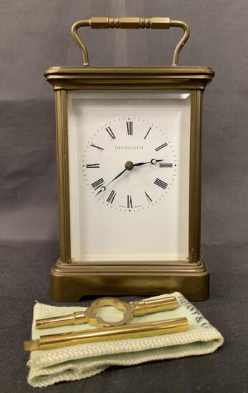 Matthew Norman Carriage Clock for Tiffany & Co.