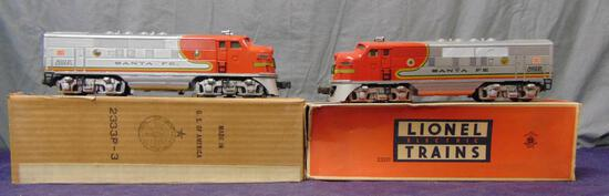 Early Lionel RS 2333 SF F3 AA Diesels