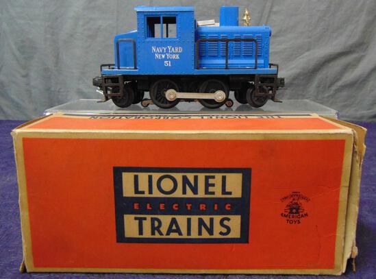NMINT Boxed Lionel 51 Navy Diesel