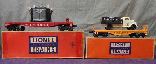 Clean Boxed Lionel 6151 & 6818