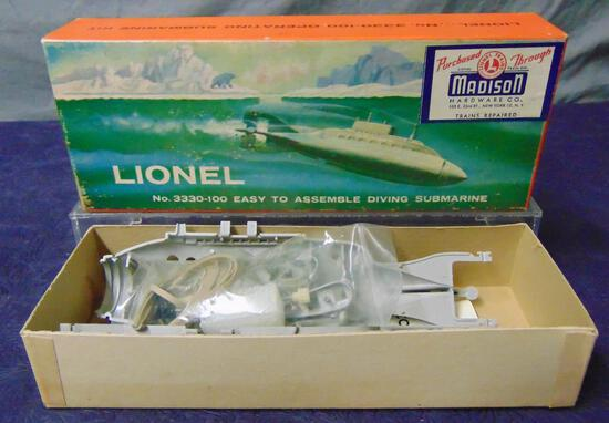 Boxed Lionel 3330-100 Separate Sale Sub Kit