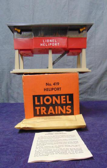 Boxed Lionel 419 Heliport