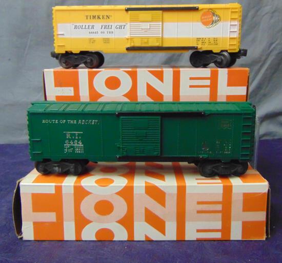 2 Late Lionel 6464 Boxcars