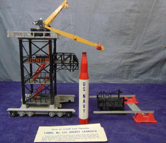 Boxed Lionel 175 Rocket Launcher
