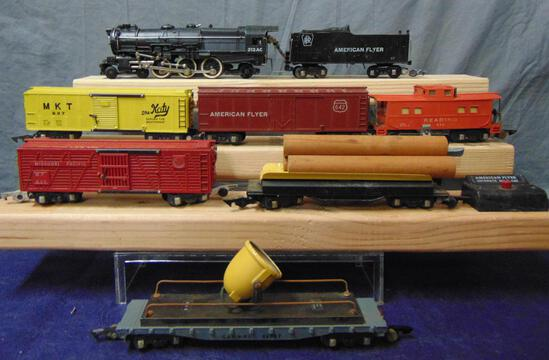 7pc American Flyer 312AC Freight Set