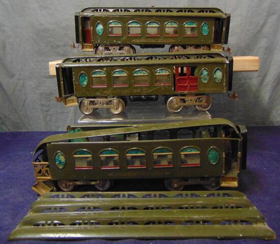 Lionel 19, 18 & 190 Passenger Cars, TLC