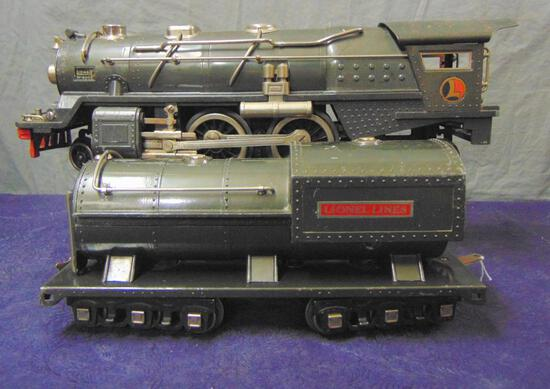 Late Lionel 400E Steam Locomotive