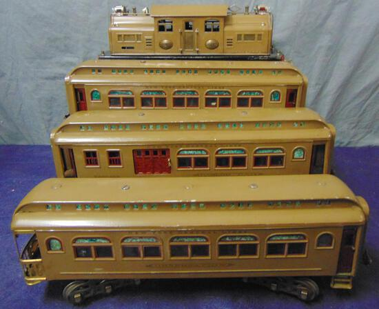 Clean Lionel 402 Passenger Set