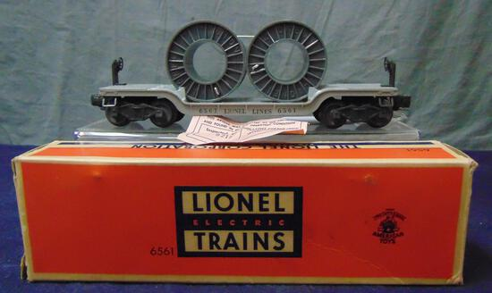 MINT Boxed Lionel 6561 Reel Car
