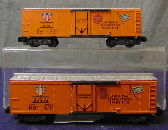 American Flyer 988 & 24413 ART Reefers