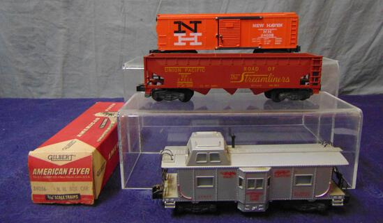 American Flyer 24216, 24038 & 24633 Freights