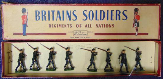 Britains #432 German Infantry.