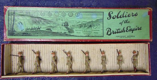 Britains #1542 New Zealand Infantry At Slope. Box.