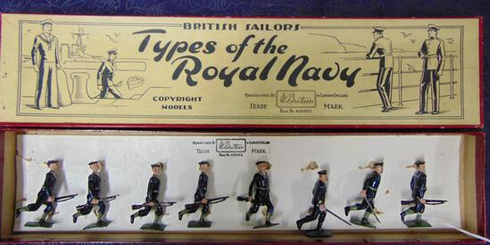 Britains #78 Blue Jackets At The Trail Boxed.
