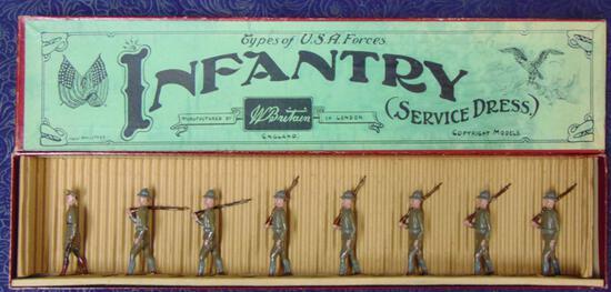 Britains U.S.A. Infantry #227.