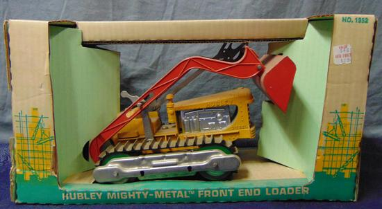 Hubley Mint in Box Front End Loader.