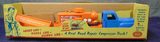 Ideal. Air Compressor Truck and Trailer Boxed.