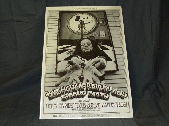 1969 Taj Mahal BG-192 Fillmore Concert Poster