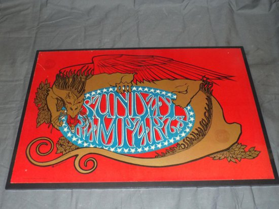 1966 Sunday Ramparts Poster, Mouse/Kelley