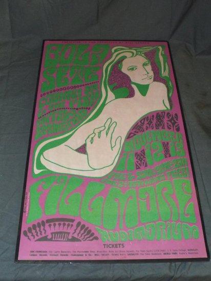 1966 Bola Sete BG-36 Fillmore Concert Poster