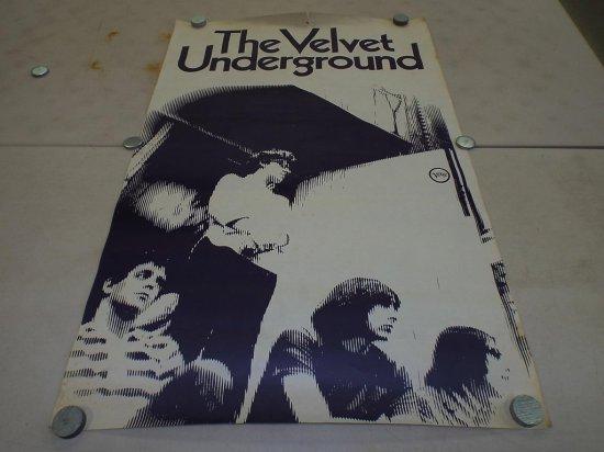 1966 VELVET UNDERGROUND Verve Promo Poster