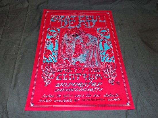 1988 Grateful Dead Concert Poster