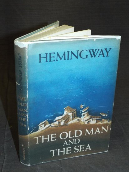 Hemingway. The Old Man and The Sea. Signed.