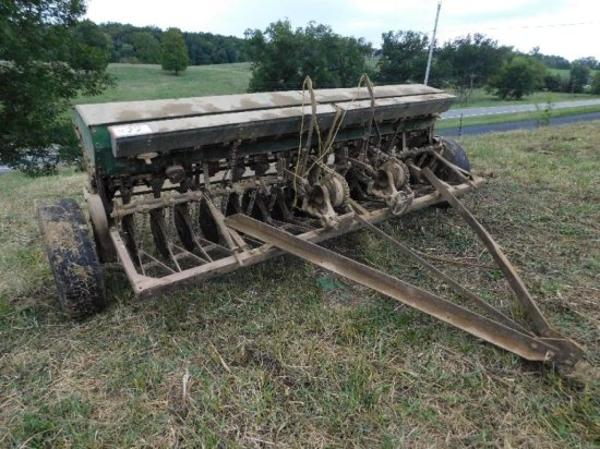 John Deere Van Bunt Grain Drill
