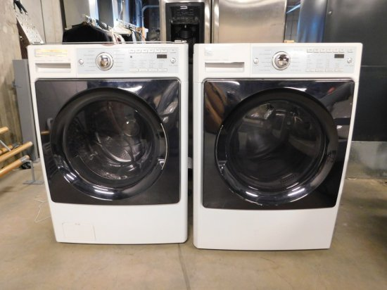 Kenmore Elite Washer and Dryer, Stackable