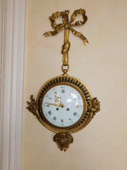 Brass, 7-Day Wall Clock