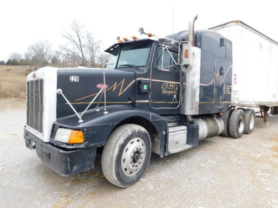 1992 Peterbilt 377 Road Tractor, Detroit Series 60 11.1L, 15sp, ODO 1,517,3