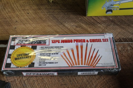 Speedway Series (12) Piece Punch & Chisel Set