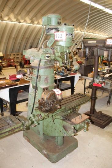 Bridgeport Vertical Milling Machine s/n  J85050