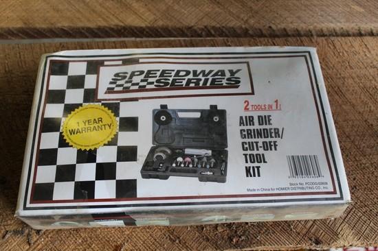 Speedway Series Pneumatic Die Grinder & Cut off Tool Kit