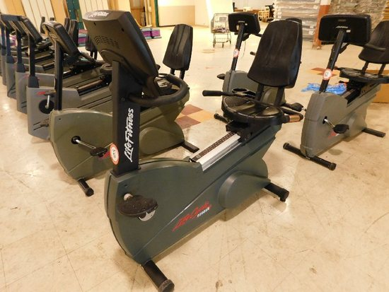 Life Cycle 9500HR  Recumbent Exercise Bike