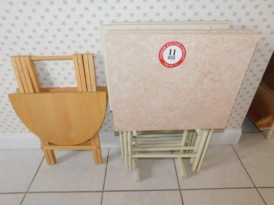 (5) TV Trays